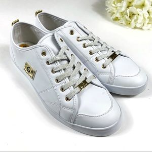 G by GUESS Gold Glitter Mallory Sneakers - Size 12